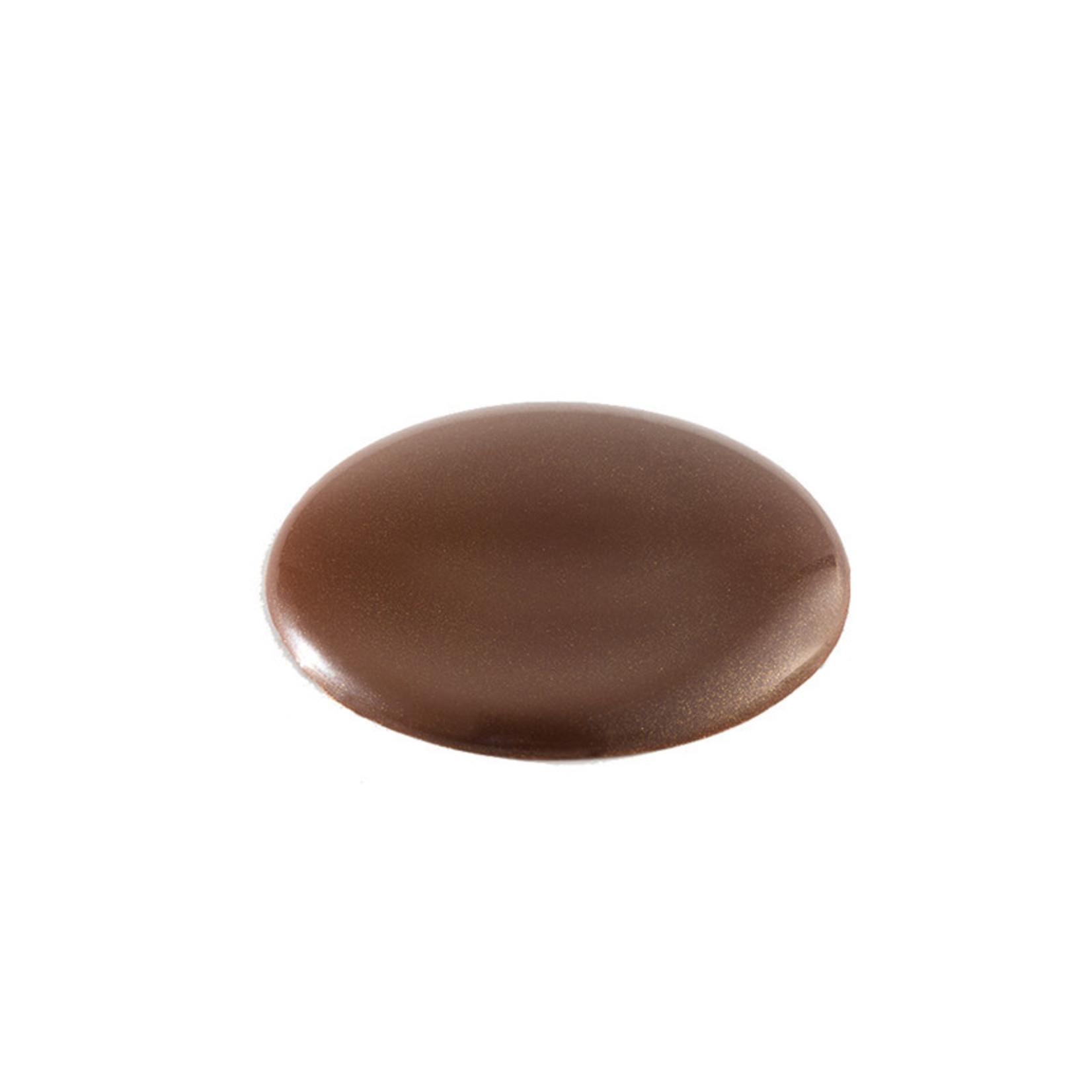 Cacao Barry Cacao Barry - Tritan Chocolate Mold - Elegant Pistoles (15 cavity), MLD-090534-M00
