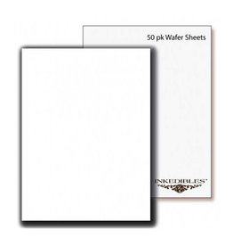 Inkedibles Inkedibles - Premium Regular Wafer Sheets 0.3mm - (100ct, A4), 510-031-01