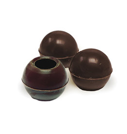 Dobla Dobla - Dark Chocolate Truffle Shells - 1'' (126ct), 96811-S