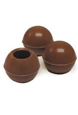 Dobla Dobla - Milk Chocolate Truffle Shells - 1'' (126ct), 96821-S