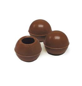 Dobla Dobla - Milk Chocolate Truffle Shells - 1'' (126ct), 96821-R