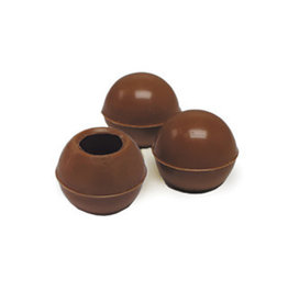 Dobla Dobla - Milk Chocolate Truffle Shells - 1'' (126ct), 96821-S