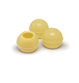 Dobla Dobla - White Chocolate Truffle Shells - 1'' (126ct), 96831-S