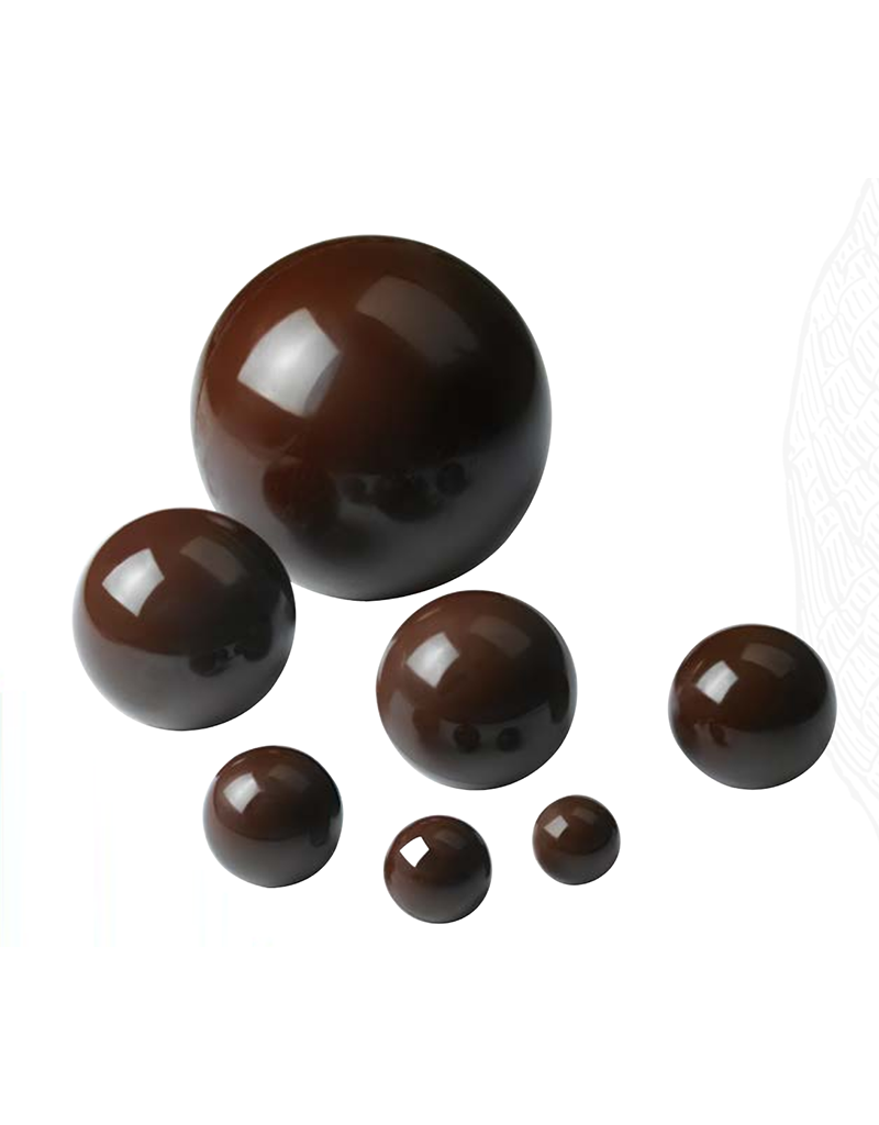 Cacao Barry Cacao Barry - Polycarbonate Mold - 12.5 cm Giant Sphere (2 cavity), MLD-090502-M00