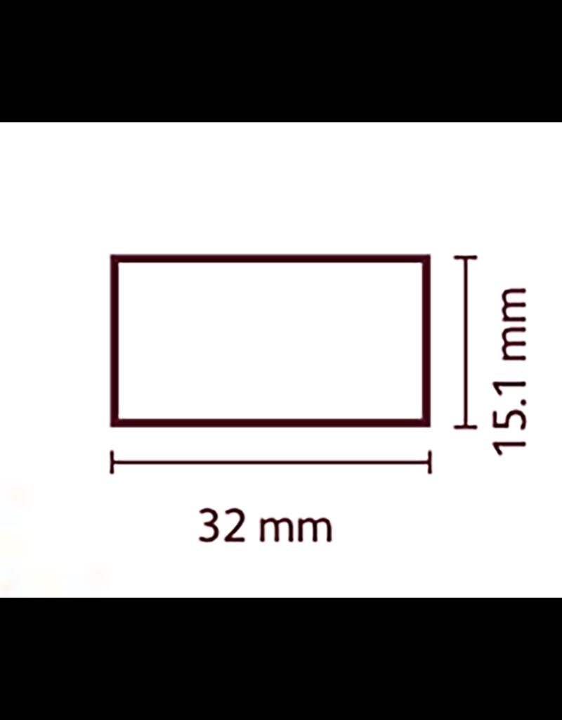 Cacao Barry Cacao Barry - Tritan Chocolate Mold - Mini Log (40 cavity) MLD-090570-M00