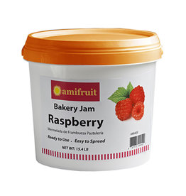 Amifruit Amifruit - Jam, Raspberry seedless - 15.4lb, AMI400