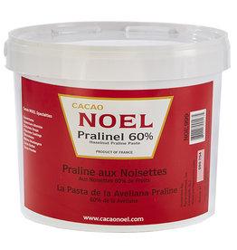 Cacao Noel Noel - Pralinel Hazelnut paste 60% - 11 lb, NOE999