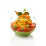 Sweet Flavor Plasticware - Sphere, clear - 5oz (100ct), DD01000