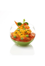 Sweet Flavor Plastic vessel - Sphere, clear - 5oz (100ct), DD01000