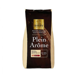 Cacao Barry Cacao Barry - Cocoa Powder, Plein Arome 22-24% - 2.2lb, DCP-22GT-BY-US-760 (box of 6)