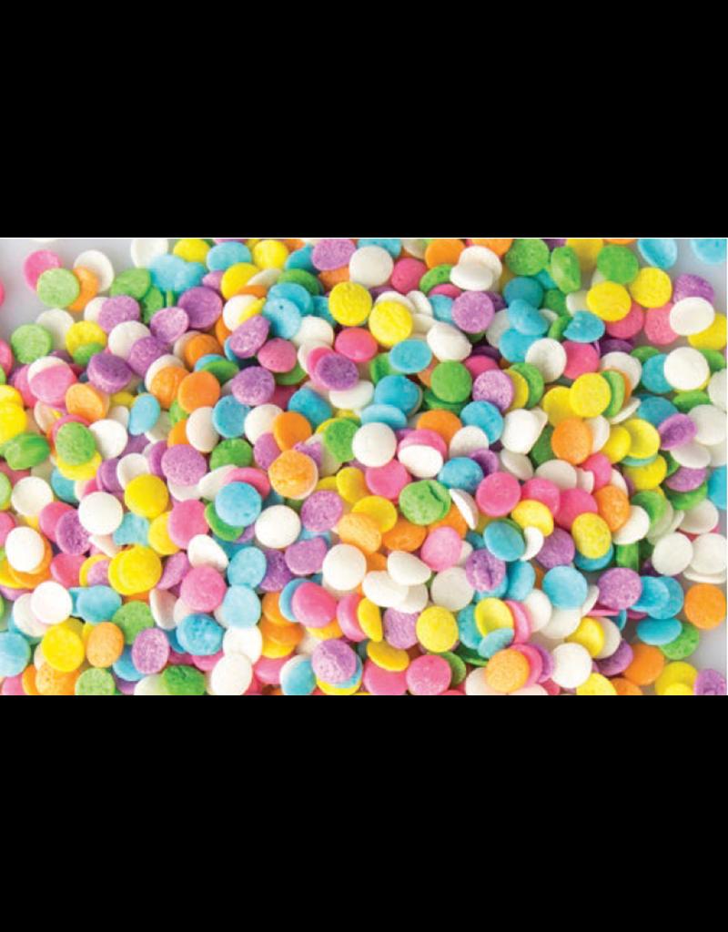 Mavalerio Mavalerio - Pastel Sequin Shapes, MINI - 5lb, 5263