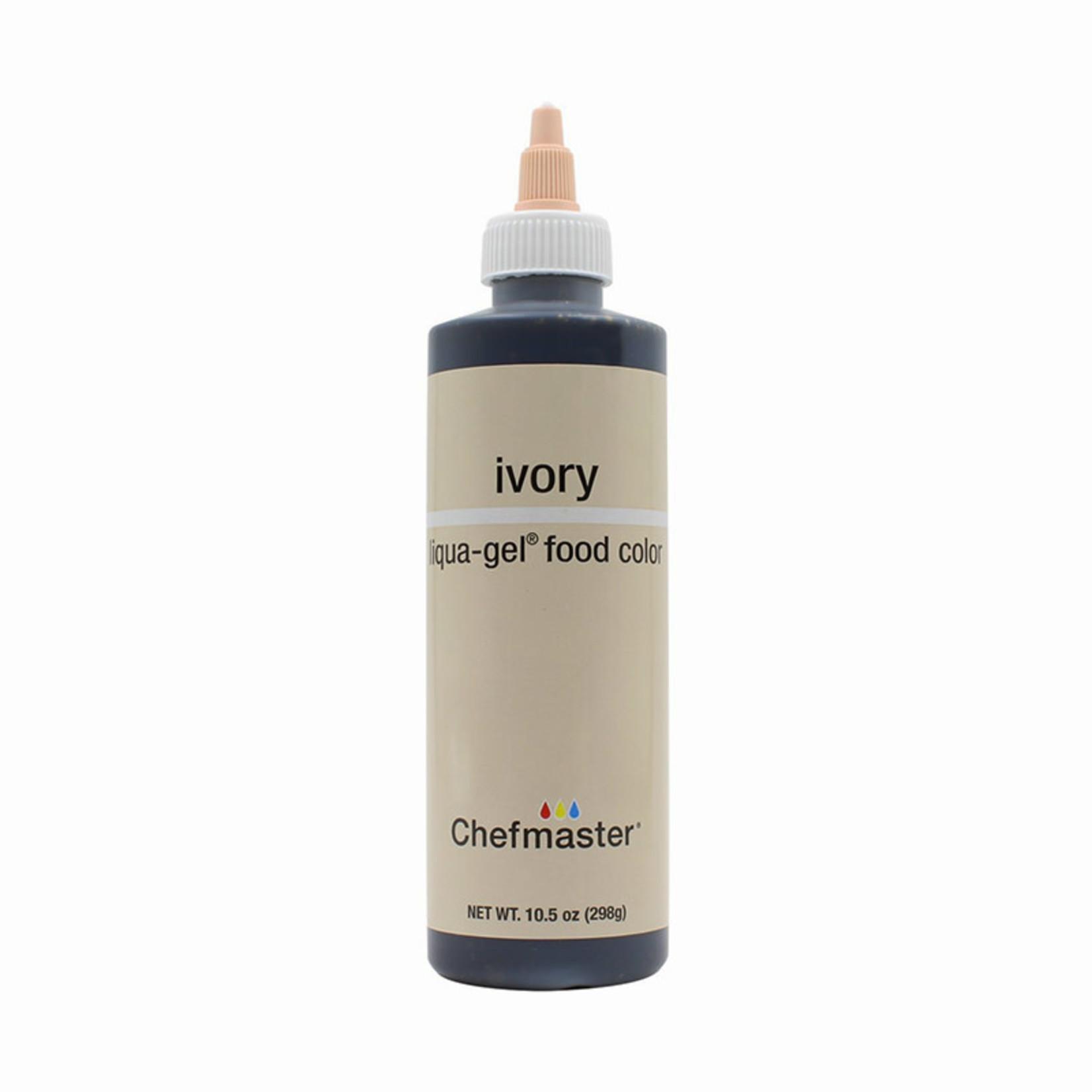 Chefmaster Chefmaster - Ivory Gel food color - 10.5oz