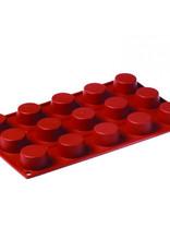 Pavoni Pavoni - Formaflex silicone mold, Petit Four (15 cavity), FR024