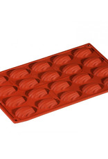 Pavoni Pavoni - Formaflex silicone mold, Mini Madeleine (20 cavity), FR026