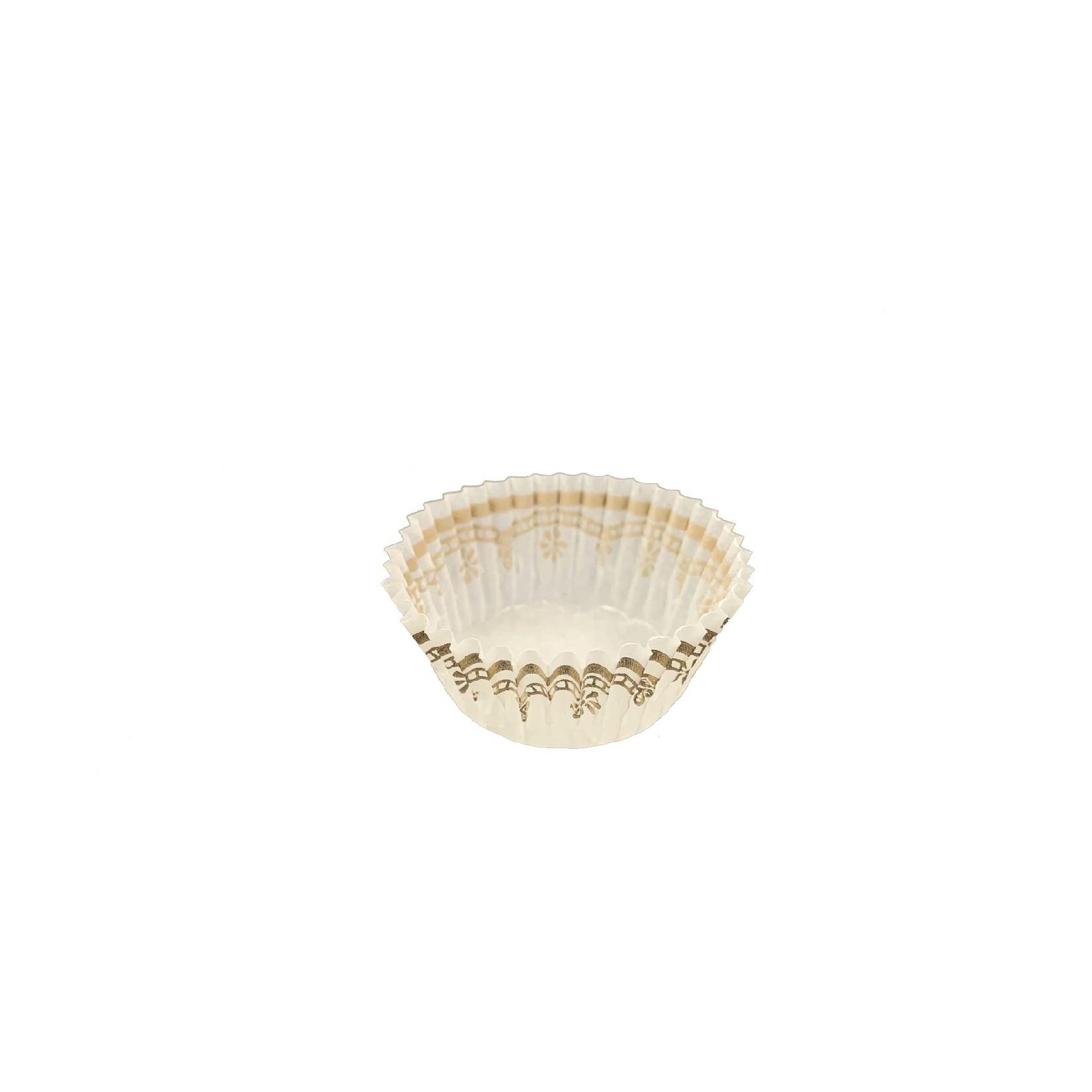 Unger Glassine Cup, 1-3/8x3/4'' (1000ct) - White/Gold