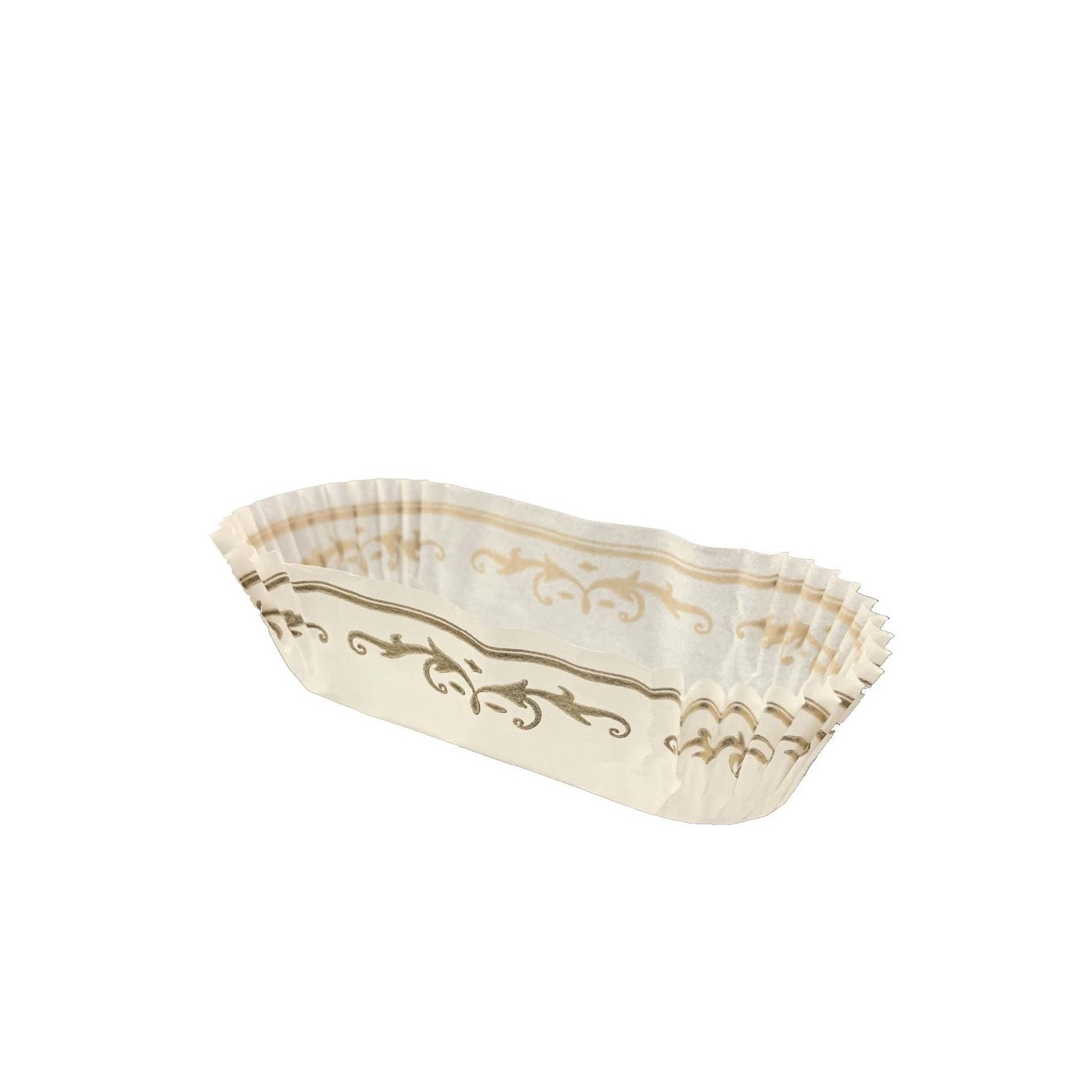 Unger Glassine Cup, 1-3/16x3-1/8'' (1000ct) - White/Gold
