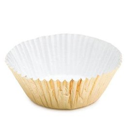 CK CK - Cupcake liner, Mini Foil #5, Gold (500ct), 85-30020