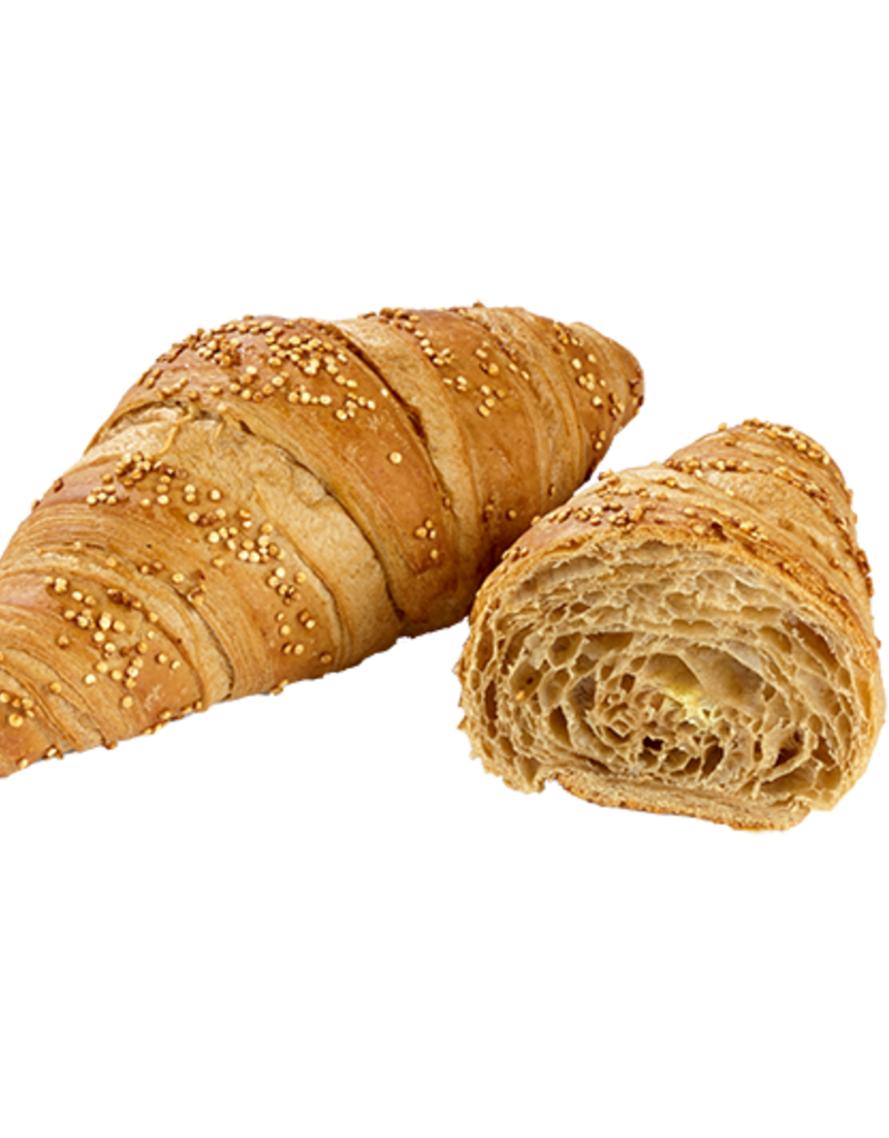 Delifrance Delifrance - Croissant, Vegan Spelt & Quinoa - 80g (56ct), 76907
