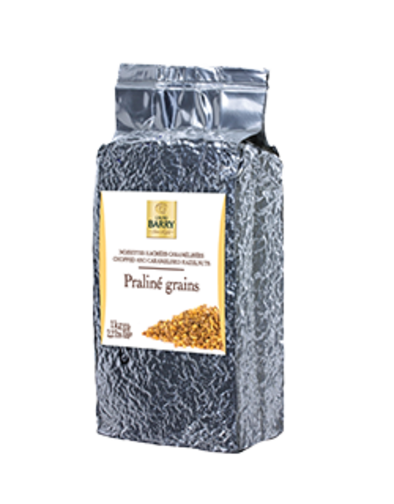 Cacao Barry Cacao Barry - Hazelnut Praline Grains - 1kg/2.2 lb, NAN-CR-HA5013-T66
