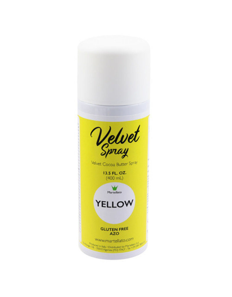 Martellato Martellato - Velvet Spray, Yellow (13.5oz), LCV204