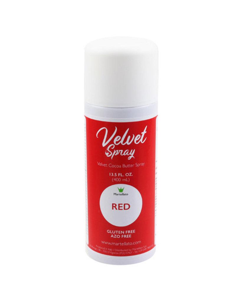 Martellato Martellato - Velvet Spray, Red (13.5oz), LCV208