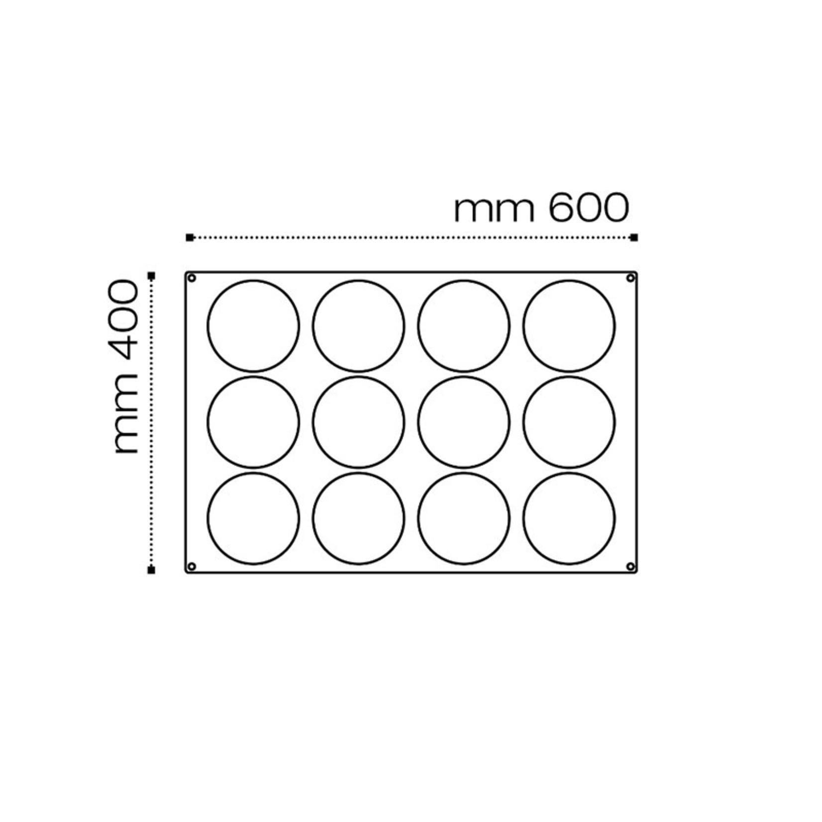 Pavoni Pavoni - Pavoflex silicone mold, Inserimento, (12 cavity), PX077