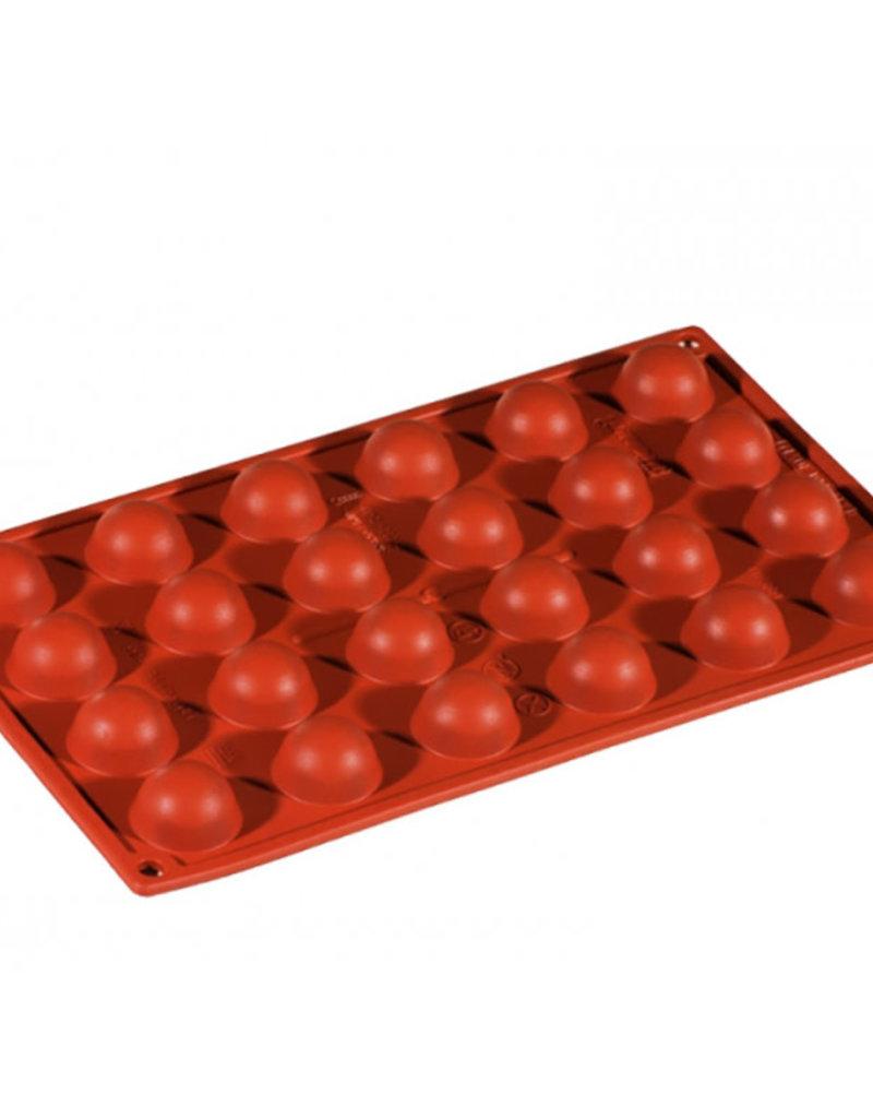 Pavoni Pavoni - Formaflex silicone mold, Semisfera (24 cavity), FR004