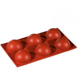 Pavoni Pavoni - Formaflex silicone mold, Semisfera (6 cavity) FR001