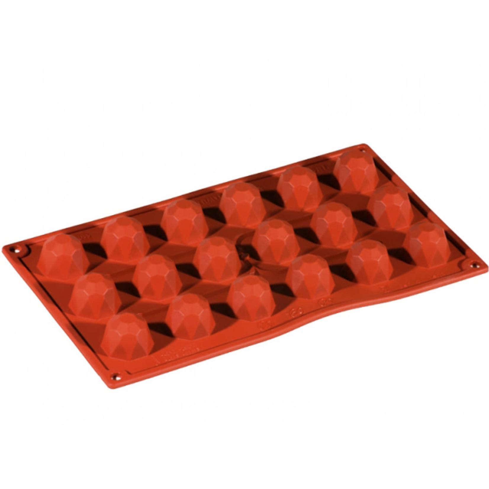 Pavoni Pavoni - Formaflex silicone mold, Diamante Piccolo (18 cavity), FR033