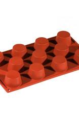 Pavoni Pavoni - Formaflex silicone mold, Mini Muffin (11 cavity), FR020