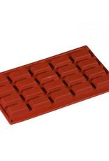 Pavoni Pavoni - Formaflex silicone mold, Mini Financier (20 cavity), FR014