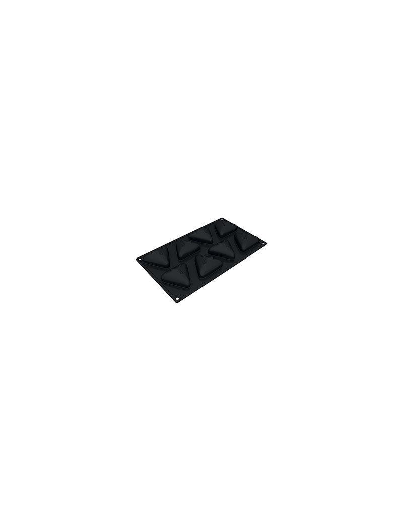 Pavoni Pavoni - Pavoflex silicone mold, Pyramid (8 cavity), PX3205