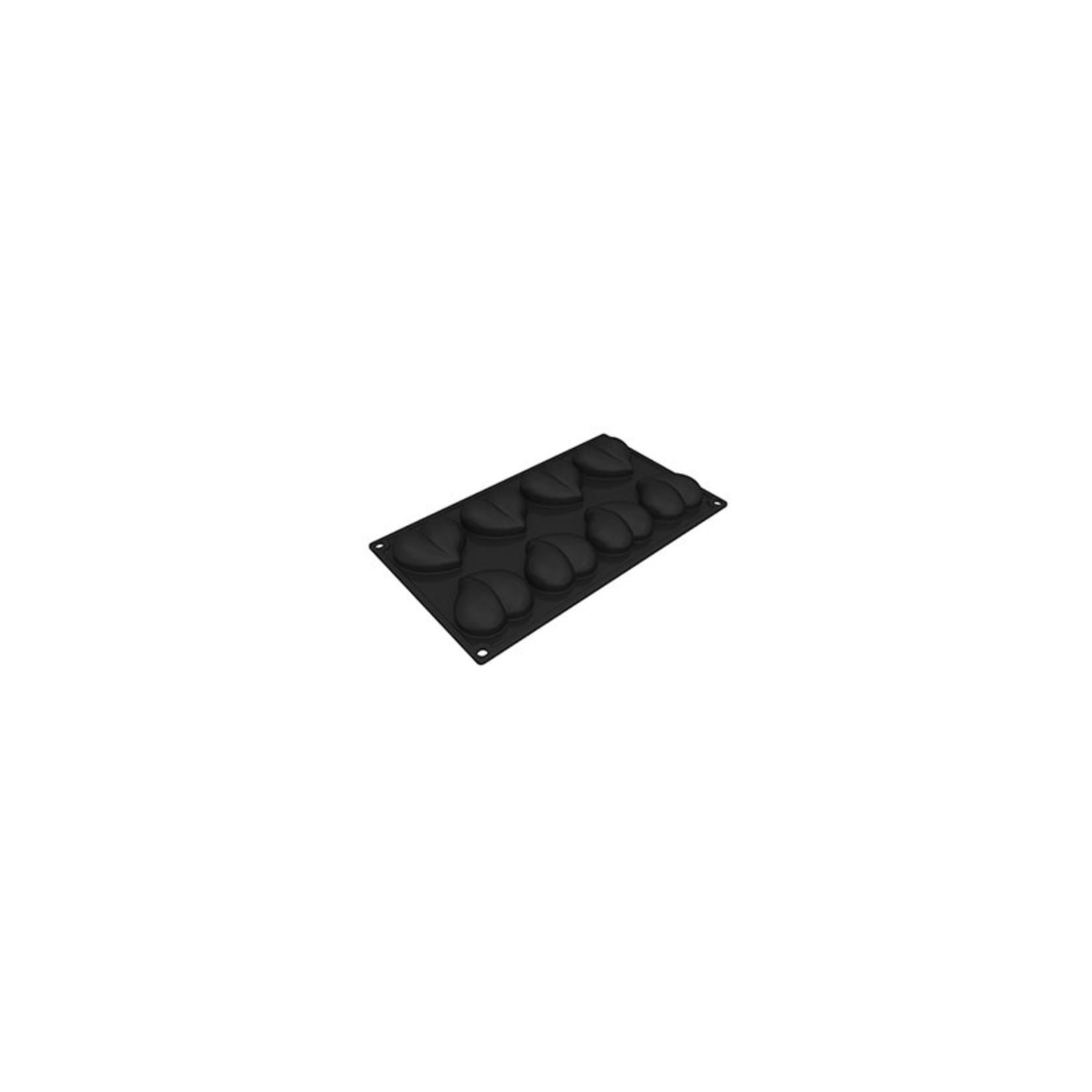 Pavoni Pavoni - Pavoflex silicone mold, Heart (8 cavity), PX3206