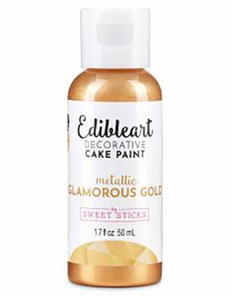 Sweet Sticks Sweet Sticks - Glamorous Gold Edible Art Paint - 50mL