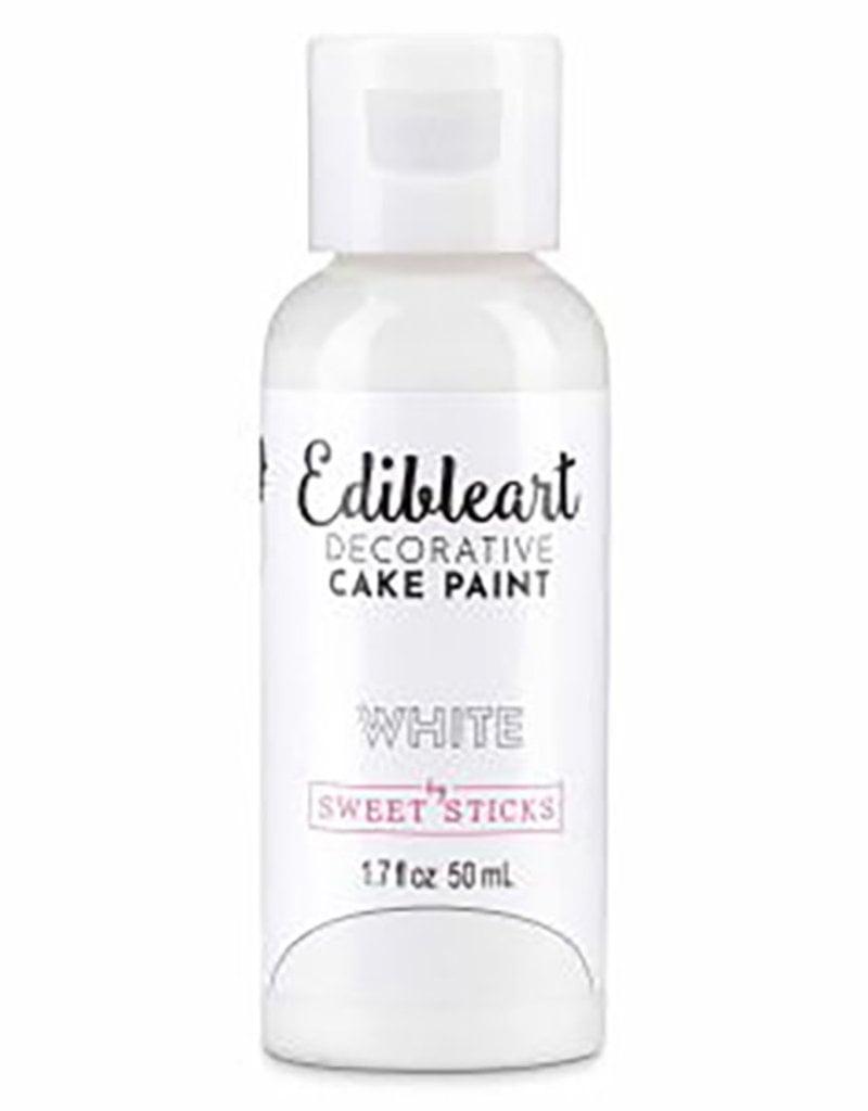 Sweet Sticks Sweet Sticks - White Edible Art Paint - 50mL