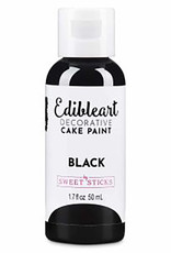 Sweet Sticks Sweet Sticks - Black Edible Art Paint - 50mL