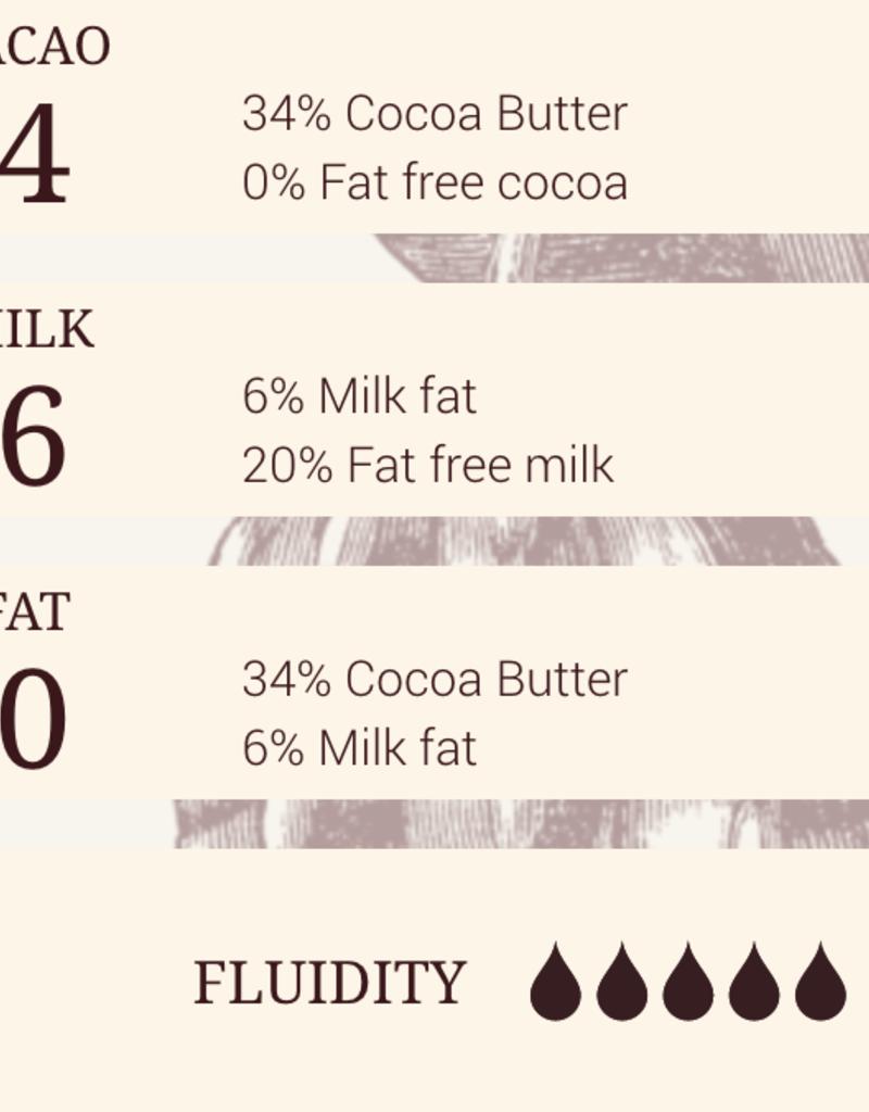 Cacao Barry Cacao Barry - Zephyr White Chocolate 34% - 1 lb, CHW-N34ZEPH-US-U77-R