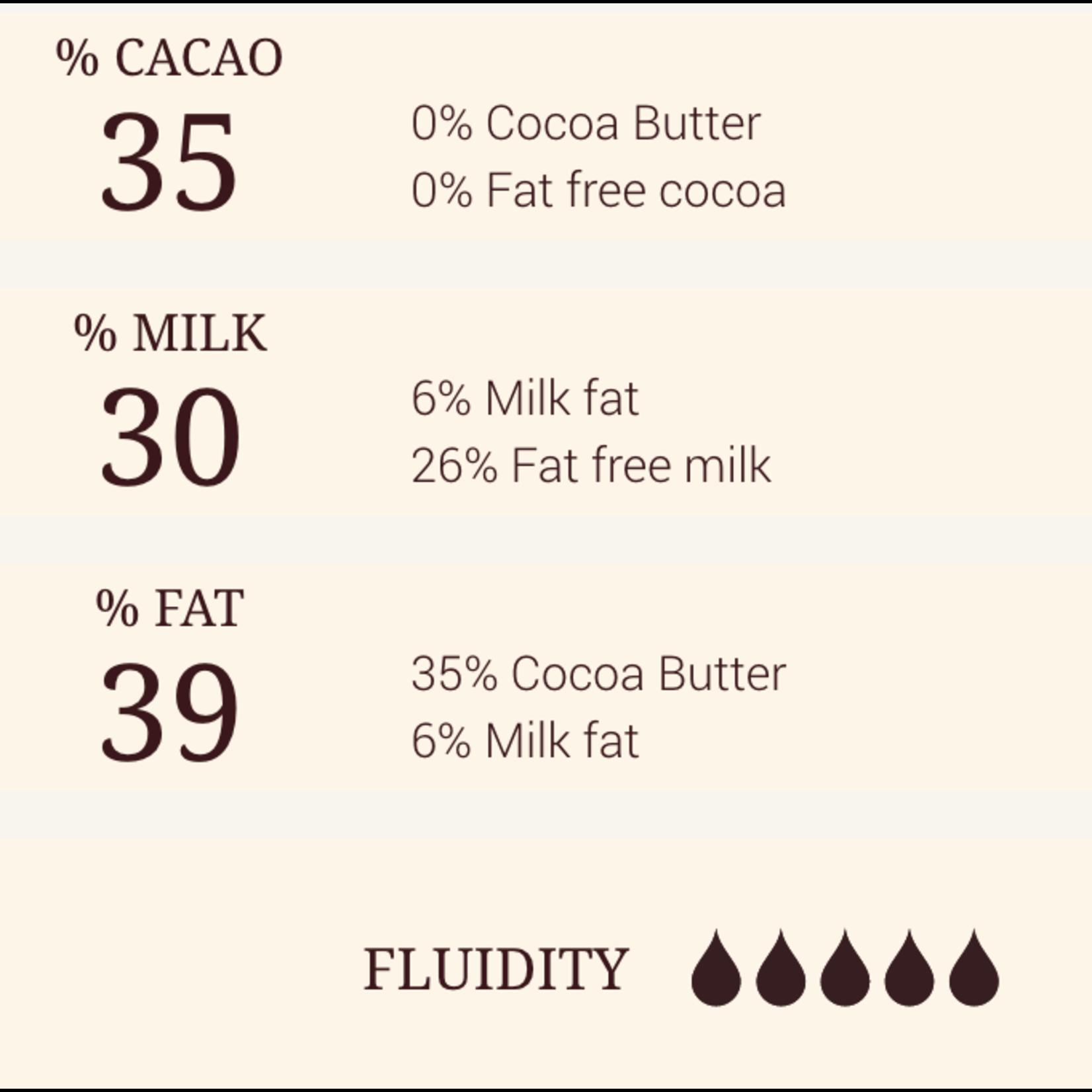 Cacao Barry Cacao Barry - Zephyr Caramel White Chocolate 35% - 2.5kg/5.5lb, CHK-N35ZECA-2B-U75