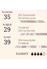 Cacao Barry Cacao Barry - Lactee Barry Equilibre Milk Chocolate, 36% - 5kg/11 lb, CHM-P35LBEQ-US-U77