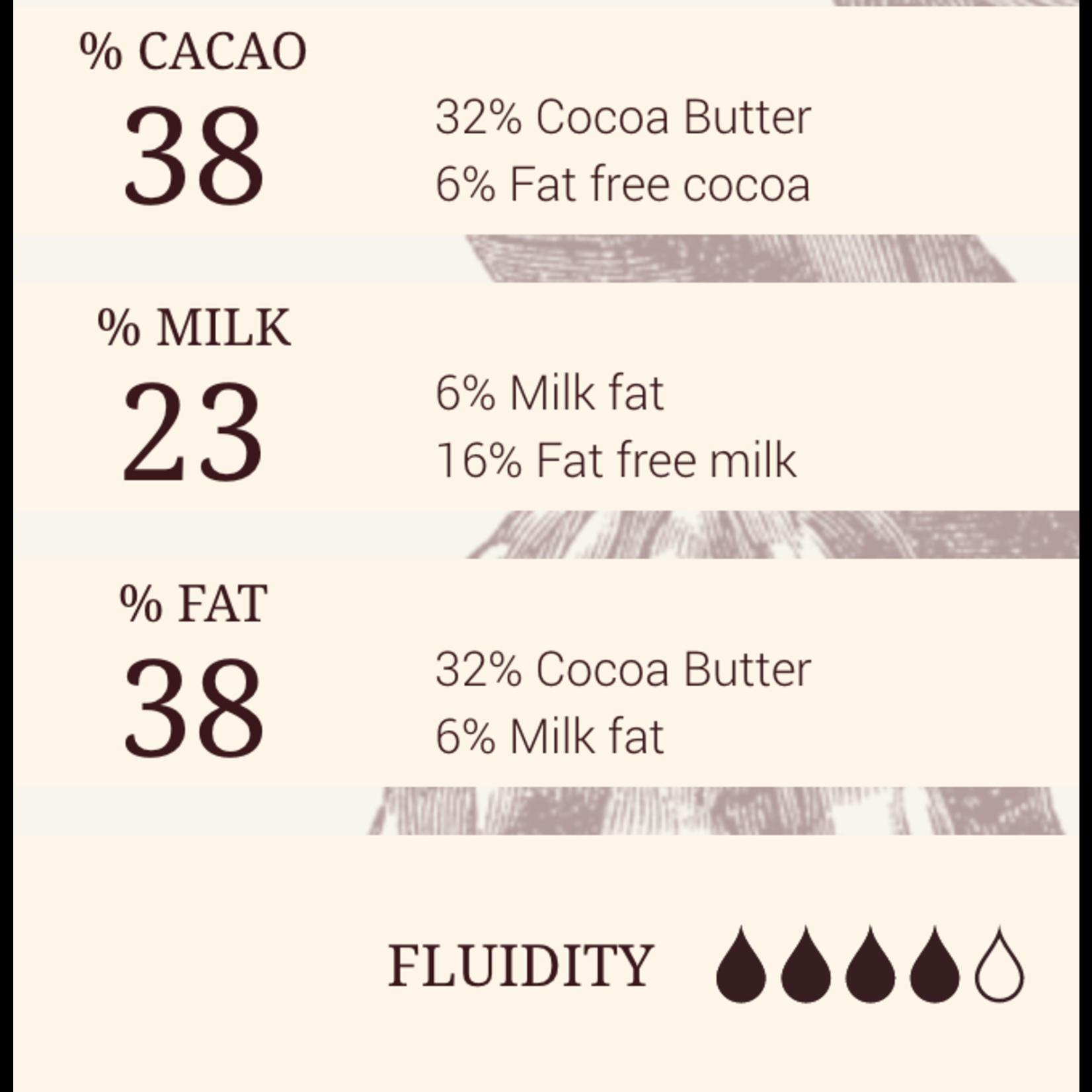 Cacao Barry Cacao Barry - Lactee Superieure Milk Chocolate 38% - 1 lb, CHM-O38LSUP-US-U77-R