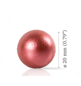 Dobla Dobla - Chocolate Pearl Red (120pcs), 77200