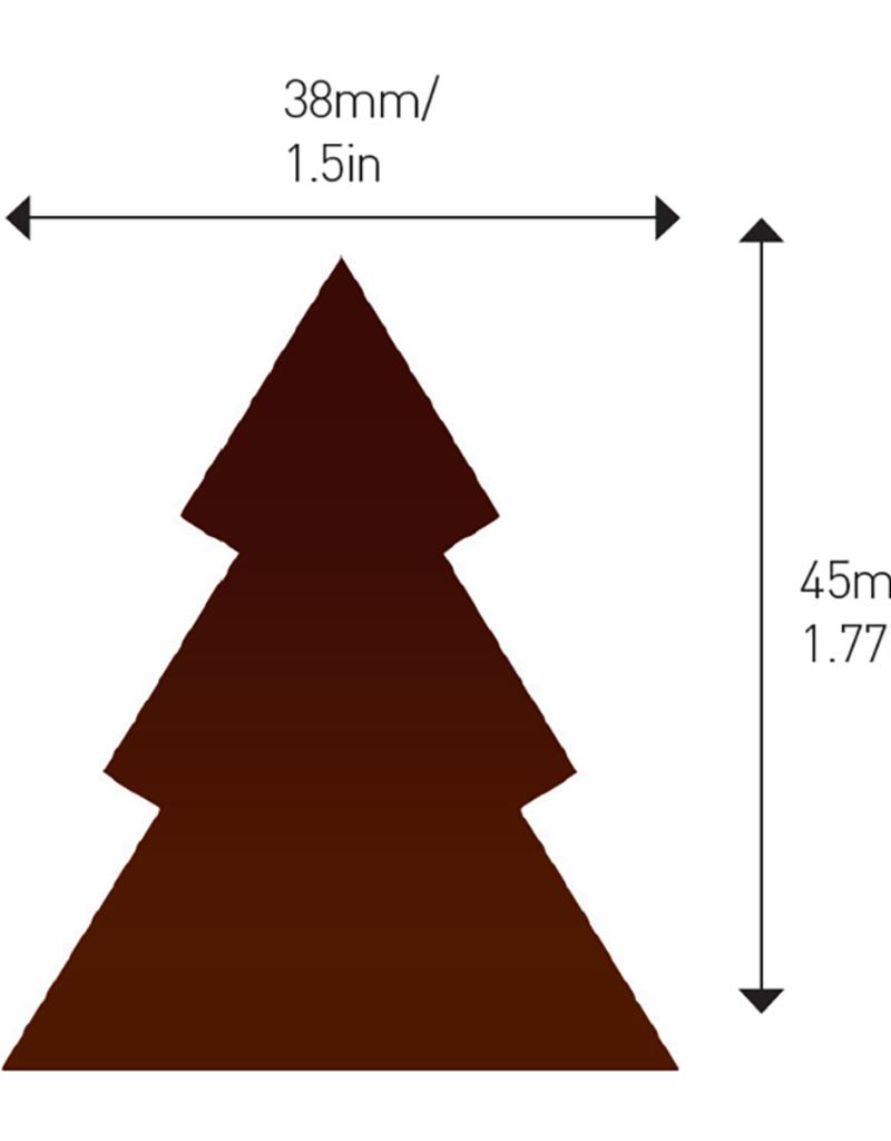 Valrhona Valrhona - Dark Chocolate Tree (108 ct), 28119