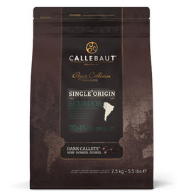 Callebaut Callebaut - Ecuador Single Origin Dark Chocolate 70.4% - 2.5kg/5.5lb, CHD-R731EQU-2B-U75