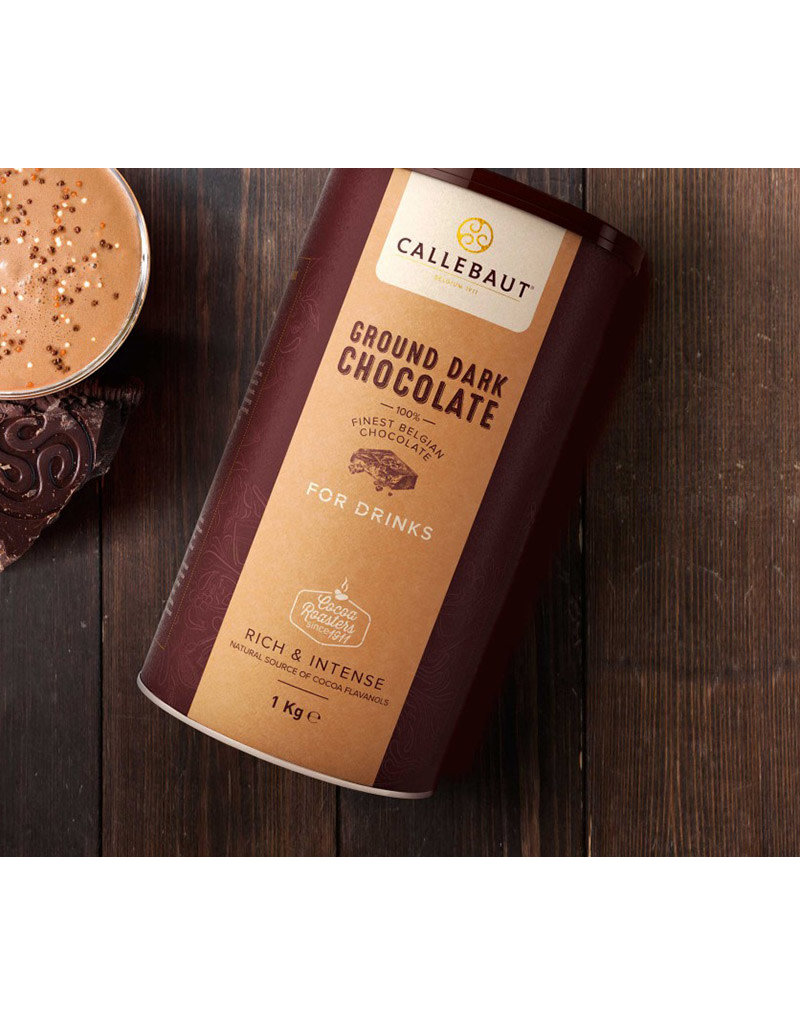Callebaut Callebaut - Ground Dark Chocolate - 1kg, CHD-X5226P-X71