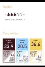 Barry Callebaut Barry Callebaut - No Sugar Added Milk Chocolate Block 33.9% - 5kg/11lb, MALCHOC-MCAL-101