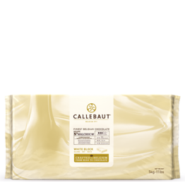 Callebaut Callebaut - No Sugar Added White Chocolate Block 30.6% - 5kg/11lb, MALCHOC-W-123