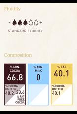 Callebaut Callebaut - Brazil Single Origin Dark Chocolate 66.8% - 2.5kg/5.5lb, CHD-Q68BRA-2B-U75