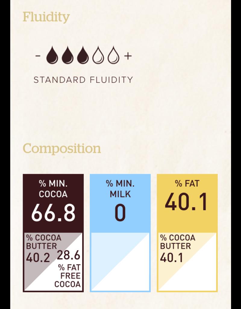 Callebaut Callebaut - Brazil Single Origin Dark, 66.8% - 2.5kg/5.5lb, CHD-Q68BRA-2B-U75