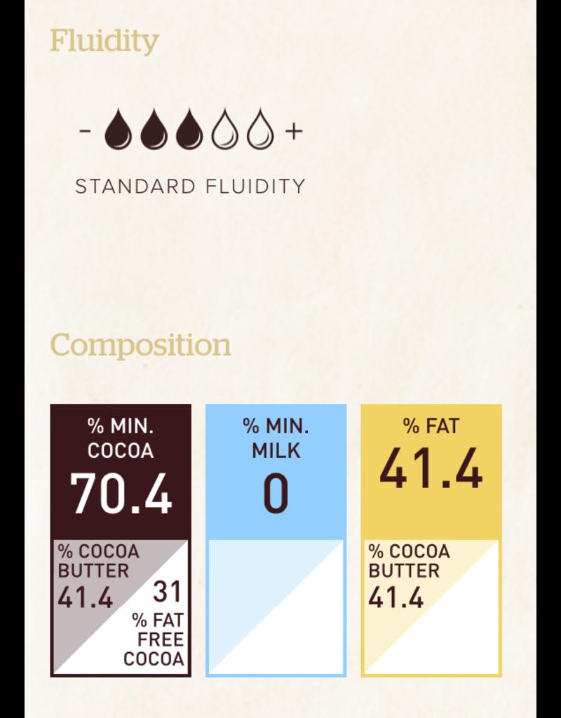 Callebaut Callebaut - Ecuador Single Origin Dark Chocolate 70.4% - 2.5kg/5.5lb, CHD-R731EQU-2B-U75