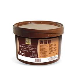 Cacao Barry Cacao Barry - Deodorized Cocoa Butter - 3kg, NCB-HD703-BY-654